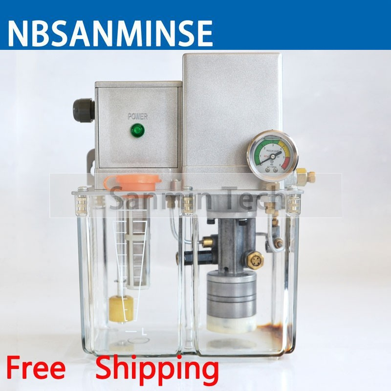 NBSANMINSE SDR2.5-32P Lubricating Oil Pump 3.0L 4.0L  AC 380 Volt 50 Hz  Gear Pump with pressure switch for Thin OilNBSANMINSE SDR2.5-32P Lubricating Oil Pump 3.0L 4.0L  AC 380 Volt 50 Hz  Gear Pump with pressure switch for Thin Oil