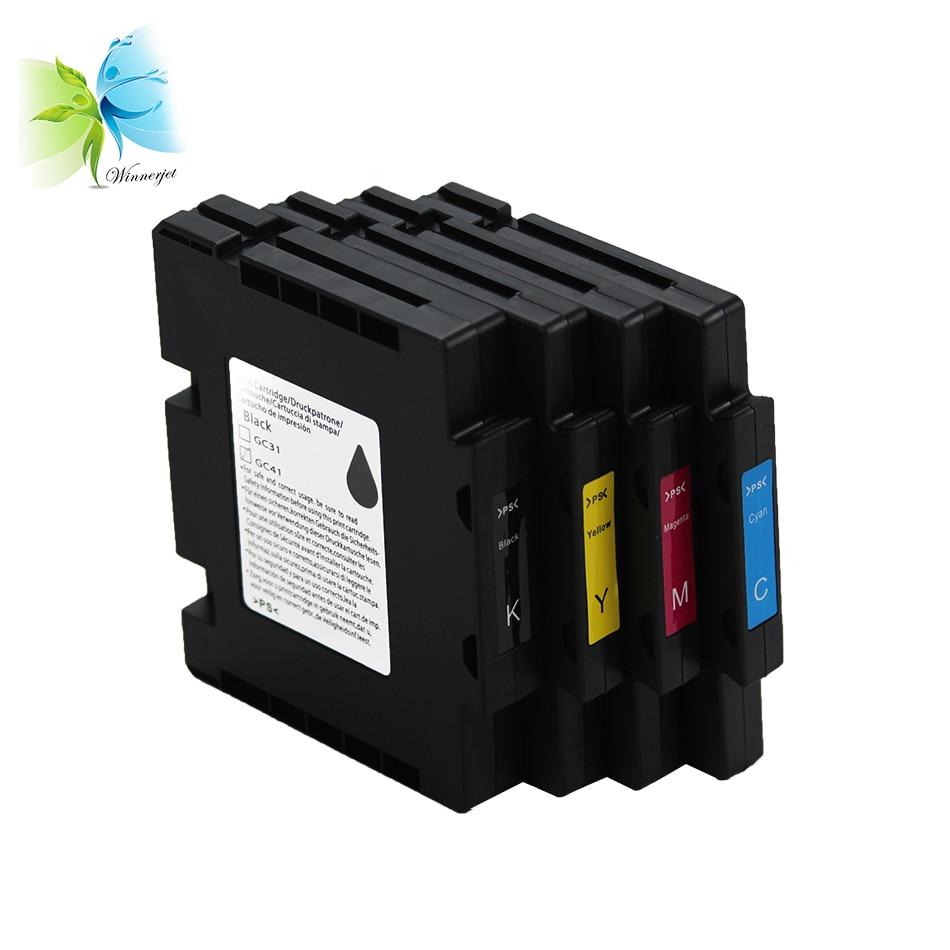 Winnerjet 10 sets GC41 GC-41 GC 41 compatible ink cartridge for Gel Sublimation Cartridge Ricoh SG 3110DN