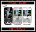 Nokia E6 abierto Original 3 G GSM teléfono móvil E6-00 WIFI GPS 8MP QWERTY pantalla táctil 8 GB dropshipping