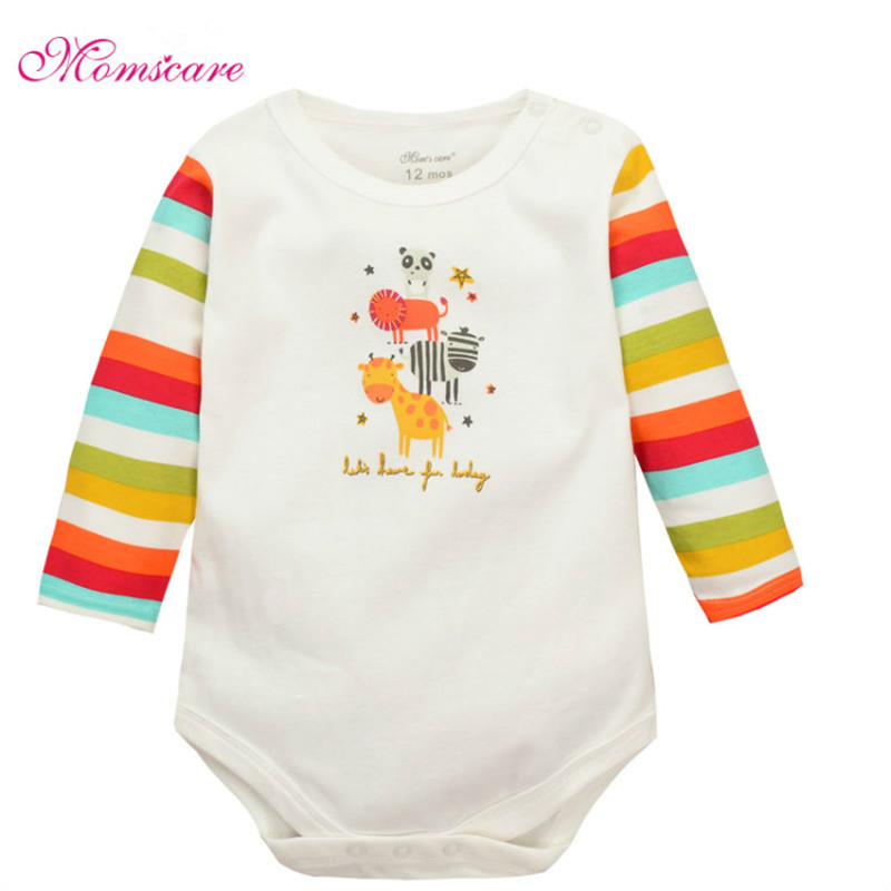 Cartoon Cotton Baby Rompers Long Sleeve Baby Wear Infant Clothing Jumpsuit Baby Boys Girls Clothes Roupas De Bebes Infantil