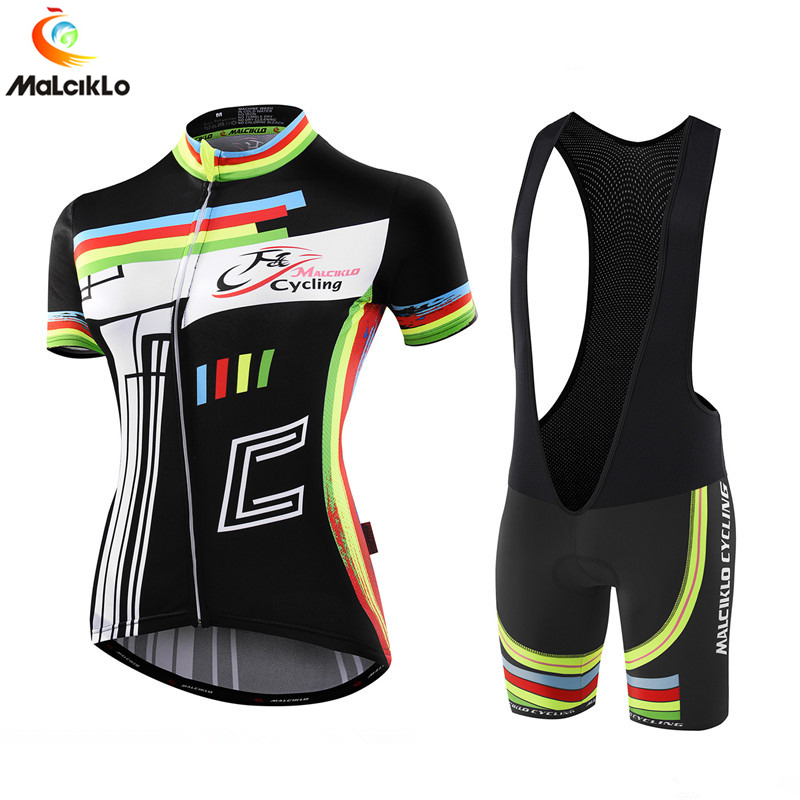 Pro Team Black Women Cycling Jersey Set 2019 MTB Clothes Bicycle Jerseys Ropa Ciclismo Mujer Bike