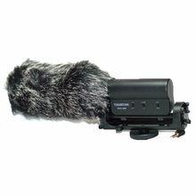 Furry Outdoor Shotgun Microphone Windscreen Wind Muff For TAKSTAR SGC-598 MIC