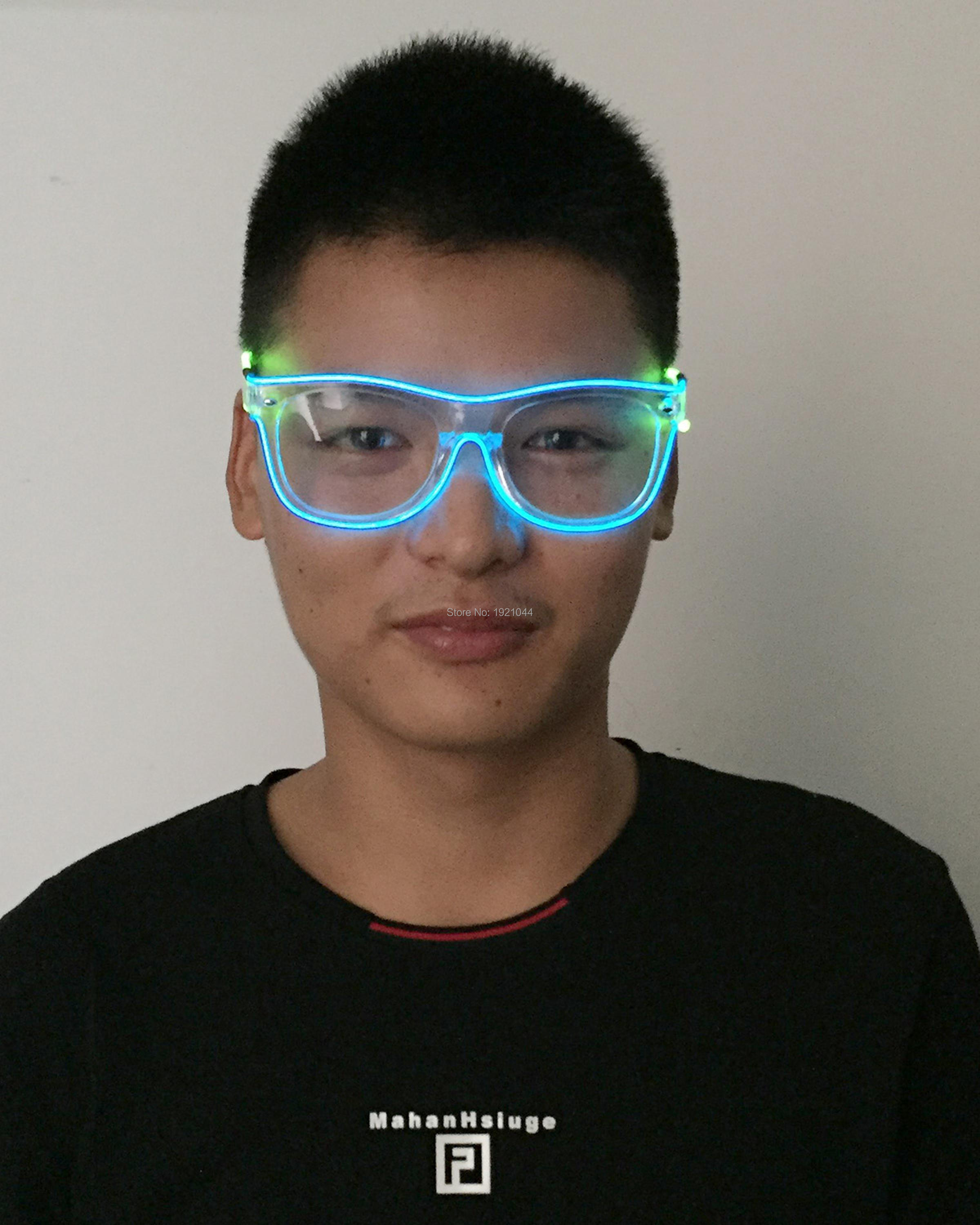 super light eyeglasses and leds glasses bowl multicolor model plates up led lii