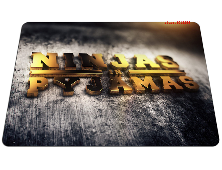 ninjas in pyjamas mouse pad Adorable large pad to mouse notbook computer mousepad best gaming padmouse laptop gamer play mats