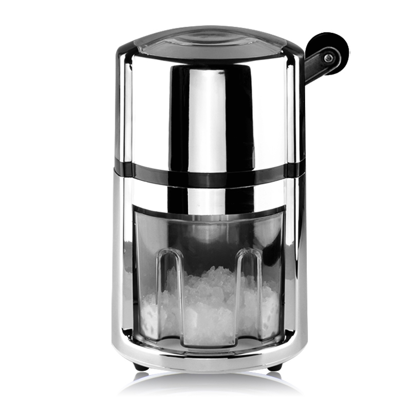 Stainless Steel Snow Cone Machine : Stainless steel blade ice crusher mini manual shaver