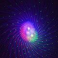 Mejor proyector láser RGB 24 patrones grandes impermeable al aire libre IP68 luz láser jardín Navidad paisaje árbol de Navidad mostrar iluminación