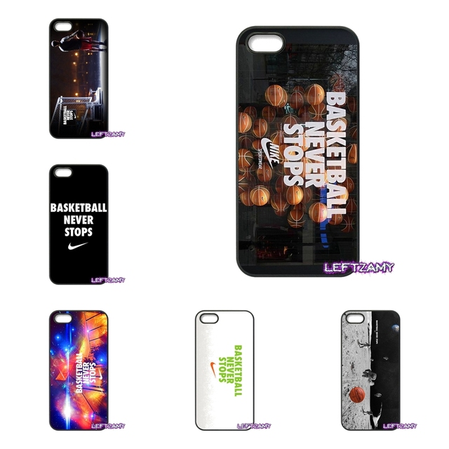 newest eaa1f 05421 US $4.96 |Love Basketball Never Stops Hard Phone Case Cover For HTC One M7  M8 M9 A9 Desire 626 816 820 830 Google Pixel XL One plus X 2 3-in ...