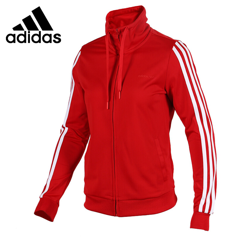 Original New Arrival Adidas NEO Label W FRN TRICOT TT Women's jacket Hooded Sportswear