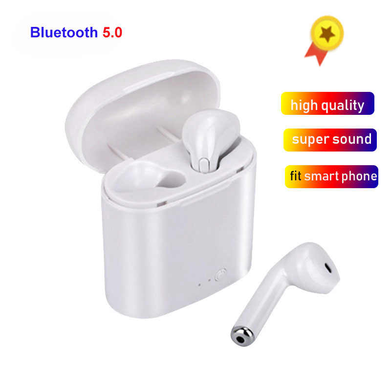 High Quality i7s Tws Wireless Headphones Bluetooth 5.0 Earphone For apple Samsung iPhone Headphones auricular