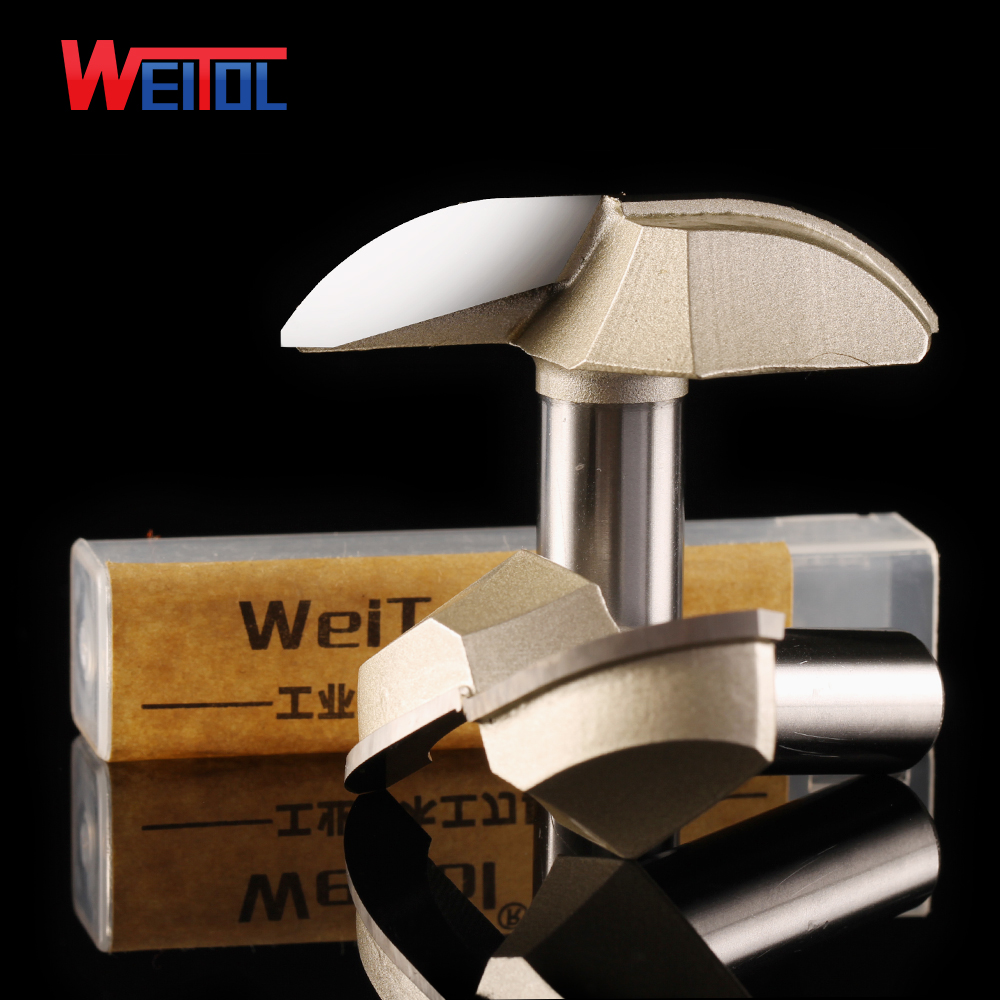 Weitol 1 pcs  12.7 mm tungsten carbide wood router bits cnc milling cutter woodworking milling machine tools wood cutting tools 10 60 90 120 a wood cnc router bits cutting tools for cnc machine