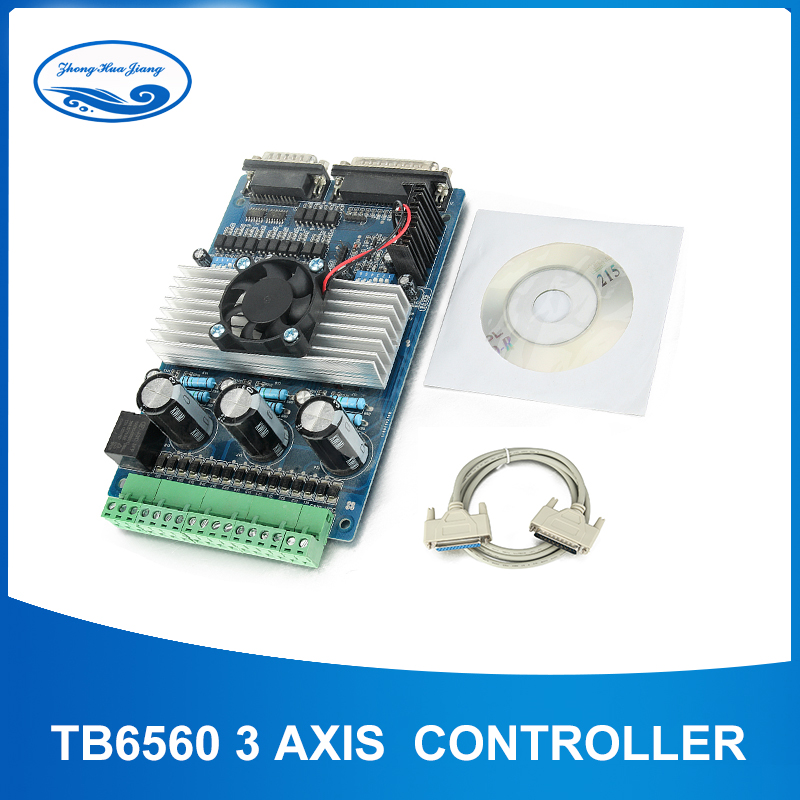 TB6560 3 axis cnc controller tb6560 stepper motor driver mach3 cnc controller D001BTB6560 3 axis cnc controller tb6560 stepper motor driver mach3 cnc controller D001B