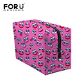 Neceser Makeup Box Zipper Women Luxury Cosmetic Bag Case Smile Emoji Print Make Up Organizer Toiletry Storage Travel Wash Pouch