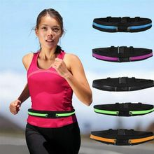 Newly Dual Pocket Running  Adjustable сумка на пояс Waist Bag belt bag for Sports Fitness Mobile Phones поясная женская