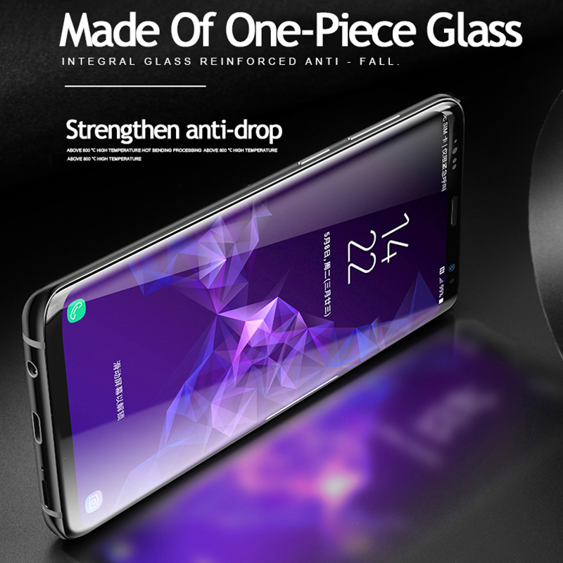 Image 3 - Lamorniea 20D Note 10 UV Glass Screen Protector with FINGERPRINT UNLOCK for Samsung Galaxy Note 10 S10 Plus S8 9 5G glass film-in Phone Screen Protectors from Cellphones & Telecommunications