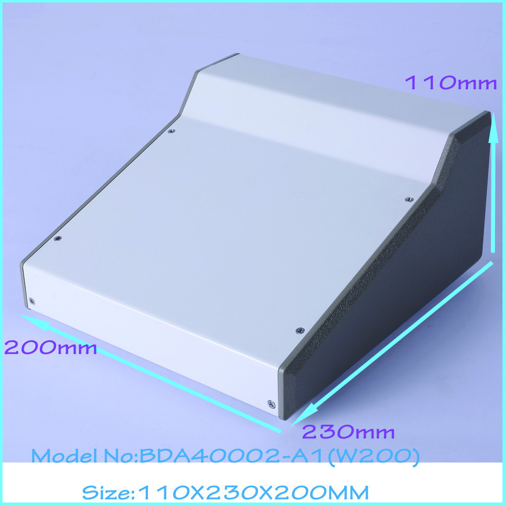 (1pcs )110x230x200mm steel metal enclosure for electronics control box electronics project box electronical junction box