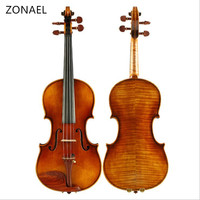 Professional Violin Handmade Antique Grading Violino 4/4 musical instruments More than 18 years of natural dry wood bow 630