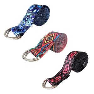 D-Ring Belts Yoga Strap Fitnes