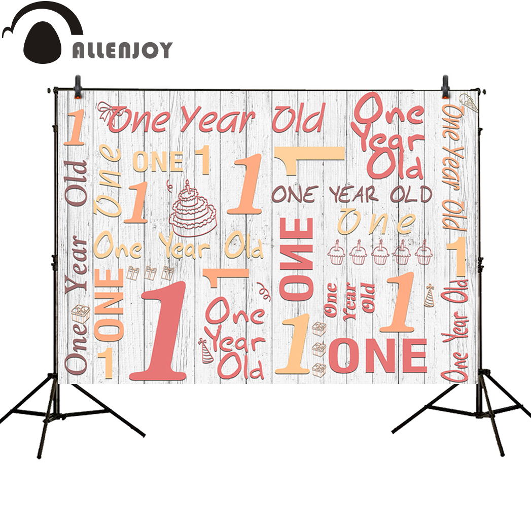 Allenjoy photography background birthday board party baby Spain style backdrop photocall photobooth vinyl cloth fabric