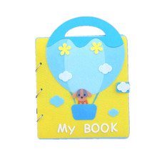 My First Book Cute Felt Animals Baby Picture Mommy Sewing Quiet Books Boys Grow Theme Craft Kits DIY Crafts for Kids Gift