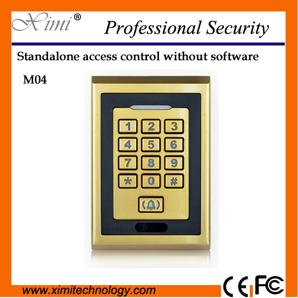 2000 Users 13.56Mhz Card Reader Ip68 Standalone M04-Waterproof Access Control System сенсорные купить до 2000 грн
