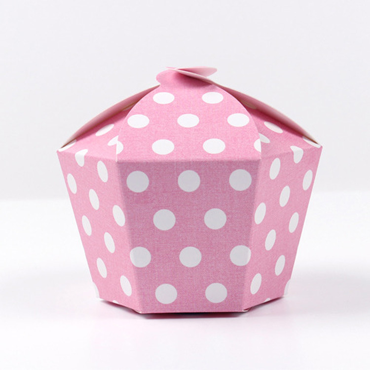 20 Pcs Gift Candy Box For Wedding Party Birthday Paper Box Chocolate Box Gift Paper Packaging Stars Dot Hexagon Cardboard in Gift Bags Wrapping Supplies from Home Garden
