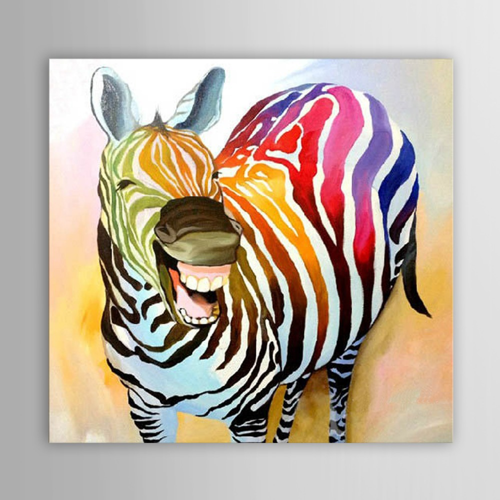 zebra oil painting - photo #43