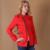 Novas Mulheres Moda Primavera Fino Blazer feminino Casaco Manga da Jaqueta de Zíper Casuais Regulares Pequenas Senhoras Terno Blazers Trabalho Desgaste X0010