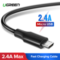 Ugreen Micro Cavo USB 2.4A Veloce di Ricarica USB Cavo di Dati Del Telefono Mobile Cavo di Ricarica per Samsung Huawei HTC Android Tablet cavo