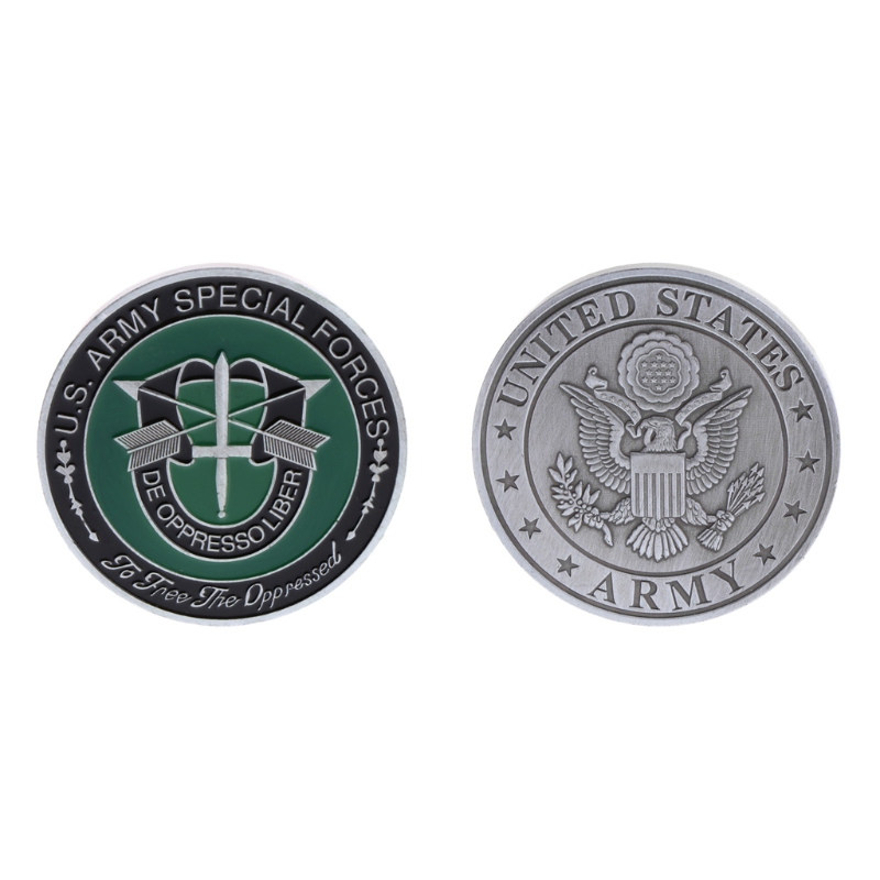 Commemorative Coin US American Army Special Forces Collection Arts Gift Souvenir image