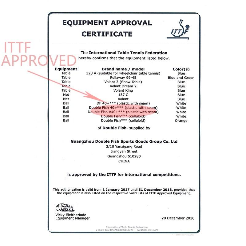 Equipment Approval Certificate (ITTF)2018900