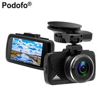 Podofo Ambarella A7LA50 Car DVR GPS 2 In 1 Car Camera DVRs Dashcam 1296P Night Vision