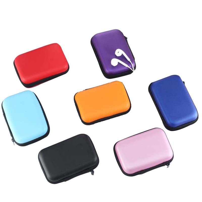 New creative fashion candy color small Bag female Girl Headset Line Coin Purse Card Bag Wallet clutch