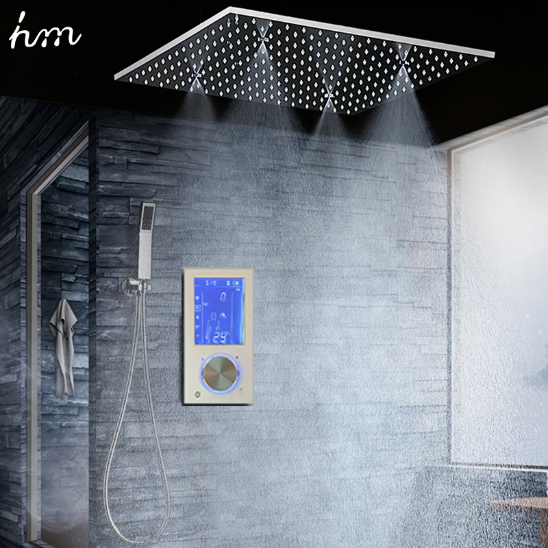 Buy bathroom shower head with 3 ways - Intelligent shower ...