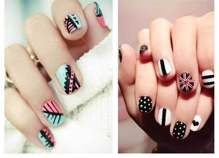 Nail Polish Paint Designs Papillon Day Spa