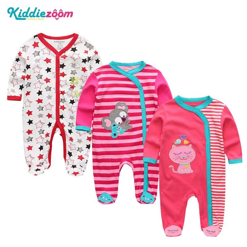 2018 Summer Newborn baby Clothing clothes roupas de bebe boys&girls 100%cotton infantil costume Monos Bodies newborn rompers