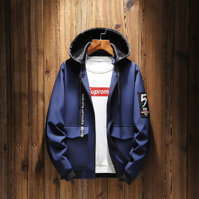 Plus 9XL 8XL 7XL  Men Jacket Coat Man Hip Hop Streetwear Men Jacket 2019 Autumn New Coat Bomber Jacket Men Clothes