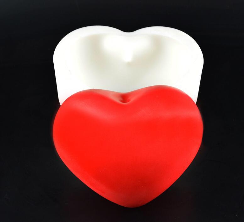 Сердце DIY Инструменты для выпечки помадка украшения торта силиконовые формы шоколадный кекс конфеты силиконовые формы