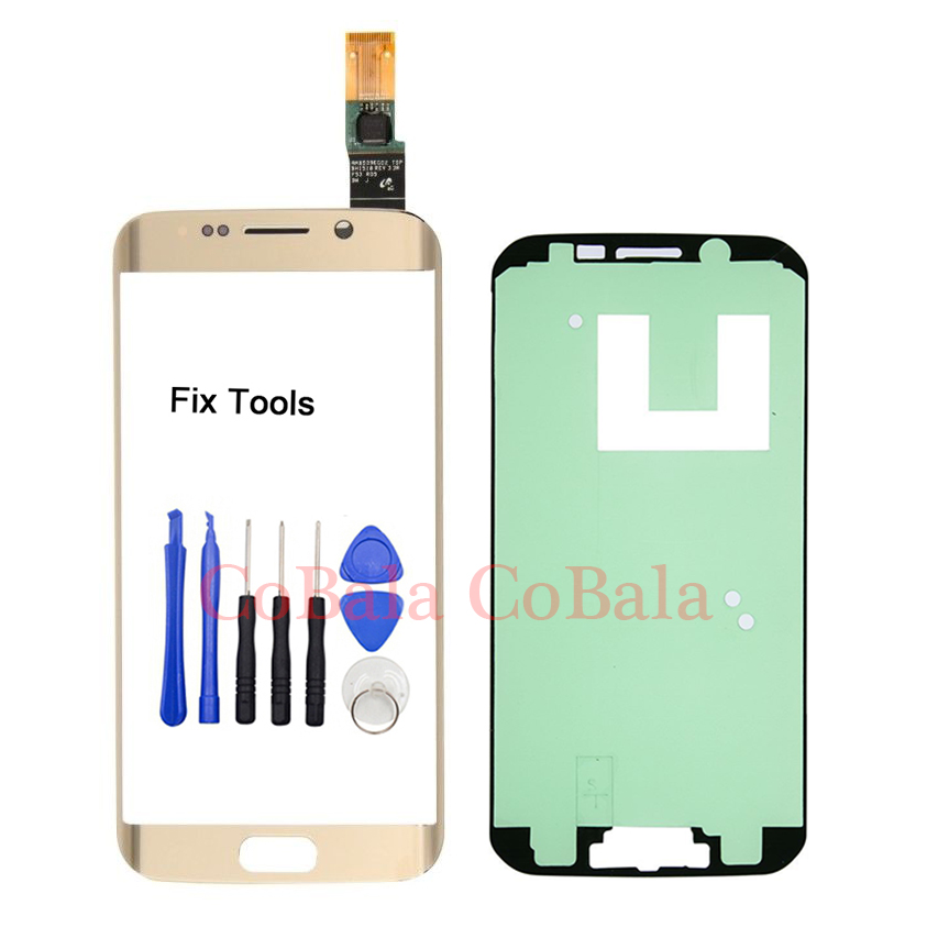 LOVAIN 1Pcs Tested Original For Samsung Galaxy S6 Edge G925F G925 Front Glass Touch Scre ...