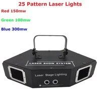 1 шт. новейший RGB полный цвет сценический диджейские лазерные лампы многоцветный 550 мВт 25 моделей лазерный свет, лазерный текст свет, лазерны