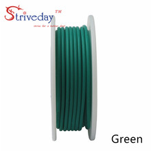 10 meters (32.8ft) 28AWG high temperature resistance Flexible silicone wire tinned copper wire RC power cord Electronic cable heating wire high temperature nickel chromium resistance wire hot plates parts 1000w high quality