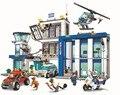 2016 NUEVA Ciudad BELA serie la Comisaría modelo bloques de construcción para niños juguetes Clásicos Compatible con Legoed 60047
