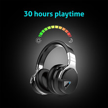 Original Cowin E-7 Wireless Bluetooth Headphones with Microphone 30 Hours Playtime