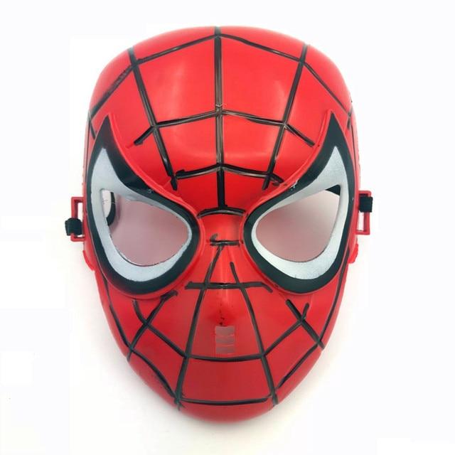 Superhero Halloween Máscara para Kid & Adulto Avengers Marvel Capitão América Homem De Ferro Hulk Spiderman Batman Máscara Novidade Da Mordaça Brinquedos