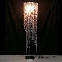 Recessed led floor lights crystal floor lamp modern floor lamp bedroom decorative floor light livingroom standing lights indoor
