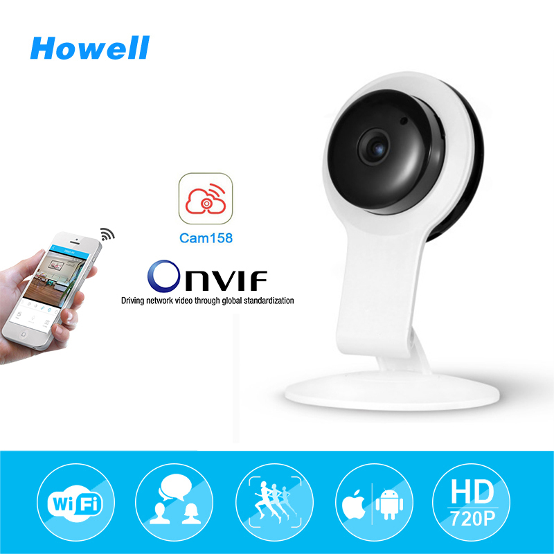Howell HD 720P Mini Wifi IP Camera Wireless Baby Monitor CCTV Home Security Surveillance Camera Night Vision Camara IP Babyphone new home security ip camera wireless wifi camera surveillance 720p night vision cctv baby monitor hd infrared video surveillance