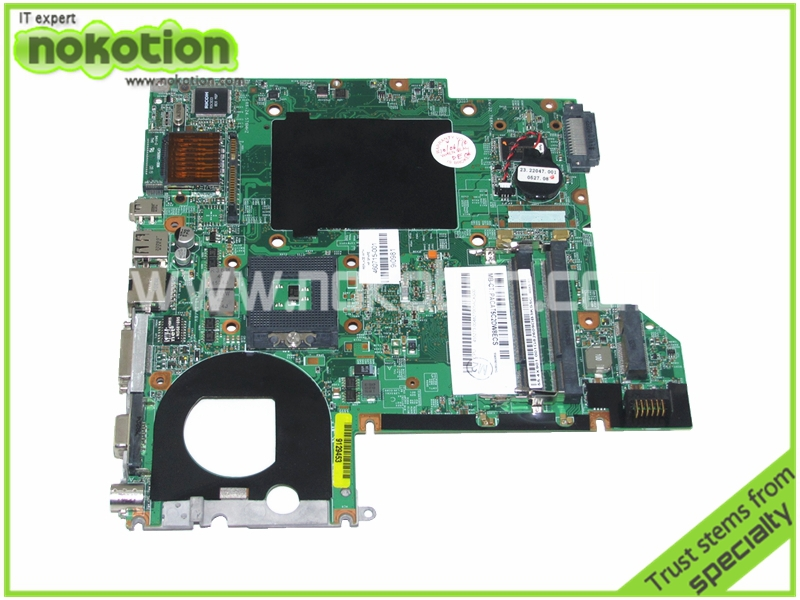 NOKOTION 460715-001 448598-001 48.4X901.05M Laptop motherboard for HP PAVILION DV2000 V3000 GM965 <font><b>DDR2</b></font> mainboard image