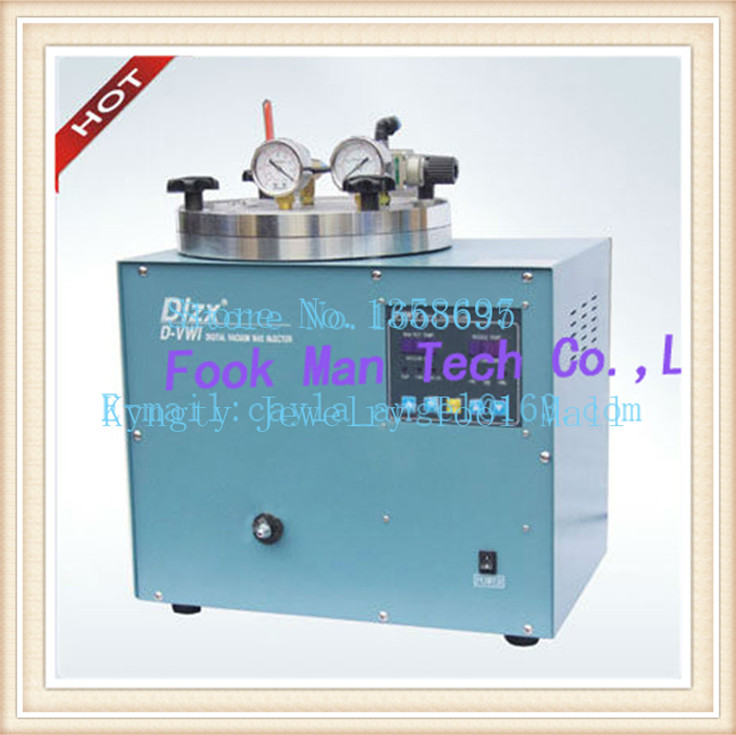 Jewelry Supplies 510W 3kg Wax Capacity Jewelry Casting Machine Japan Digital Vacuum Wax Injector