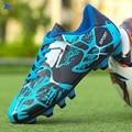 2020 мужские и женские мужские длинные шипы футбольная обувь для улицы газон оригинальные FG AG футбольные бутсы для мальчиков тренировочные к...