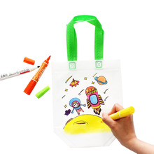 1Pcs Kids DIY Drawing Craft Color Bag Children Learning Educational Toys For Baby Gifts