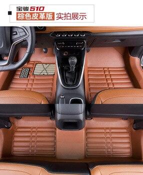 Myfmat custom new car floor mats for Hyundai ix35 i30 ELANTRA SONTA EF SONTA NF i25 CELESTA ix25 SONATA free shipping hot sale